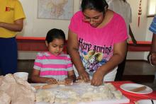 Learning to make dumplings 4